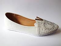 Красивые - туфли белого цвета! КАЧЕСТВО СУПЕР!