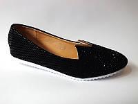 Красивые - туфли черного цвета!  КАЧЕСТВО СУПЕР!