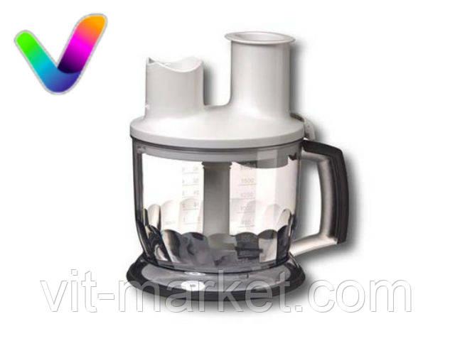 Чаша измельчитель белая FP6000 для блендера Braun код 67051023