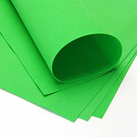 Фоамиран для рукоделия зеленый