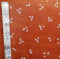 Пленка прозрачная Бабочки  60 см 400 гр