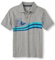 Брендовая рубашка-поло для мальчика р.104-140 (2040486HE)