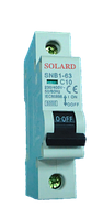 Авт. выкл. SNB1-63 1P 1A 6кА х-ка С Solard