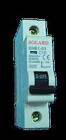 Авт. выкл. SNB1-63 1P 3A 6кА х-ка С Solard