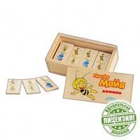Деревянная игра «Домино» Пчёлка Майя