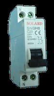Авт. выкл. SNBH8 1P+N 20A 4,5кА х-ка С Solard