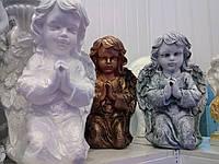 Ангел-девочка молится 45*30 под камень