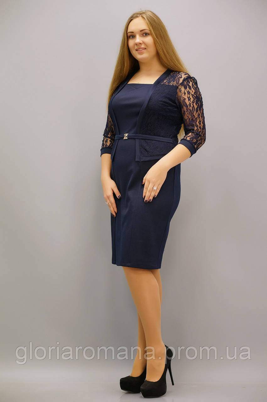 Блузки и платья больших размеров