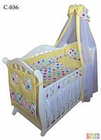 Детская постель Twins Comfort C-036 Цветные горохи