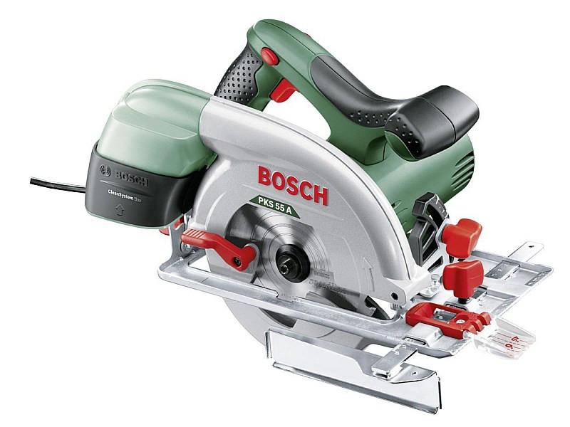 Пила дисковая ручная Bosch PKS 55 A, 0603501020