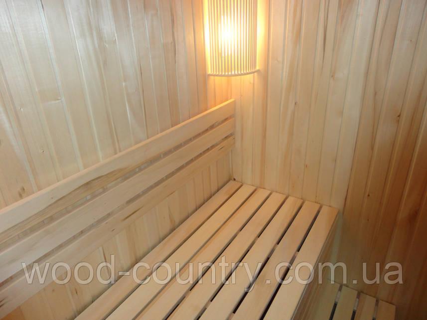 Лежак (полок) в баню из липы
