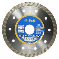 Алмазный диск по бетону S&R 252371125, 125 мм MEISTER