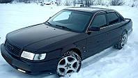 Дефлекторы окон, ветровики AUDI 100 Sd (4A,C4) 1990-1994/Audi A6 Sd (4A,C4) 1990-1997  / Ауди 100 Cobra