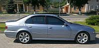 Дефлекторы окон, ветровики BMW 5 (E39) sd 1995-2003  / Бмв 5 (Е39) Cobra