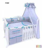 Детская постель Twins Premium P-008 Glamur