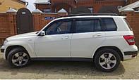 Дефлекторы окон, ветровики Mercedes Benz GLK-klasse 2008  / Мерседес Бенц Глк-Класс Cobra