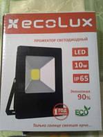 Прожектор светодиодный LED 10W 6500K ECOLUX