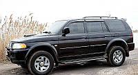 Дефлекторы окон, ветровики MITSUBISHI Pajero Sport 1998-2007/Challenger 1999-2008  / Митсубиси Паджеро Спорт Cobra