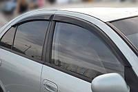 Дефлекторы окон, ветровики Nissan Almera classic (N17) 2006 / Аlmera II Sd (N16) 2000- 2006  / Ниссан Альмера Класик Cobra