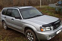 Дефлекторы окон, ветровики Subaru Forester II 2002-2008  / Субару Форестер Cobra