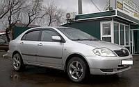 Дефлекторы окон, ветровики TOYOTA Corolla Sd 2001-2007  / Тойота Корола Cobra