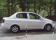 Дефлекторы окон, ветровики TOYOTA Platz 1999-2005/Toyota Echo 2000-2005  / Тойота Плац Cobra
