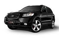 Защита картера двигателя и КПП Хюндай Санта-Фе (2006-2012) Hyundai Santa-Fe