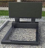 Двойной горизонтальный памятник