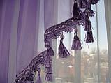 Ламбрикен Сирень Классика 2м с бахрамой, фото 2