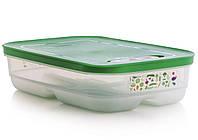 """Контейнер """"Умный холодильник"""" 1.8л низкий для длительного хранения продуктов в холодильнике"""