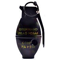 Зажигалка газовая Граната №4457-3, зажигалки, сувенирные подарки, зажигалка граната, оригинальные зажигалки