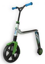 Самокат Scoot and Ride Самокат Scoot and Ride 3.0 бело-зелено-синий, до 50кг