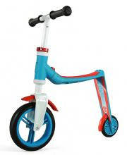 Беговел и самокат Scoot and Ride Highwaybaby сине-красный