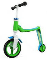 Беговел и самокат Scoot and Ride Highwaybaby зелено-синий