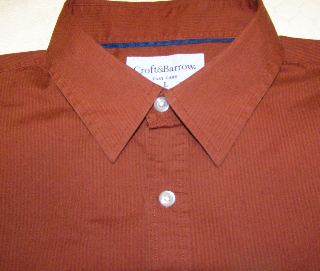 Рубашка Croft&Barrow (L)