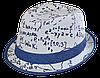 Шляпа челентанка комби математика