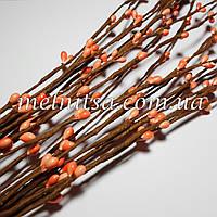 Ветка с тычинками, цвет персиковый, 5 шт