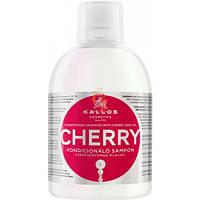Шампунь-кондиционер для поврежденных волос с маслом вишневой косточки и микроэлементами Cherry 1000 мл Kallos, фото 1