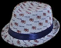 Шляпа челентанка комби Британия