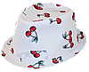 Шляпа челентанка х/б вишеньки