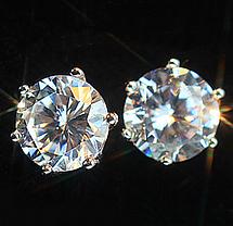 Серьги Crystal Silver, фото 3