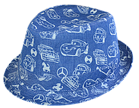 Шляпа челентанка комби тачки
