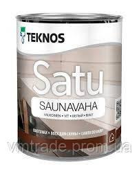 Воск для бани Текнос Сату Саунаваха, 0.9л, белый