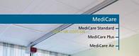Плита «MediCare», «MediCare Plus», «MediCarе Air», Рокфон Плита MediCare standart 600х600х15мм, кромка A (aw 0.95)