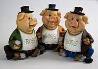 Копилка свинья BOSS (3 вида)