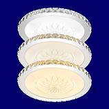 Светодиодный потолочный светильник LED Panel кристалл 80 см пульт ДУ, фото 10