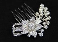 Гребешок для волос с кристалликами