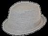 Шляпа челентанка лен кофе