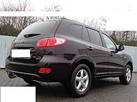 Усилитель заднего бампера Hyundai Santa Fe 2006-2012