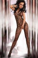 Женское эротическое белье Польша Боди-комбинезон сетка Livia Corsetti Eden LC-1